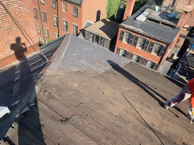 Slate Roof replacement in Boston, MA
