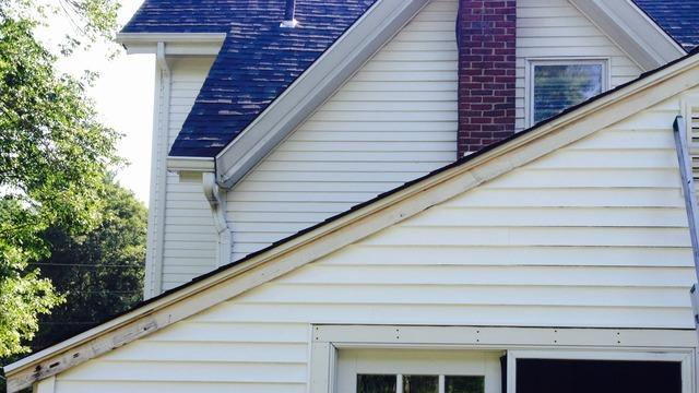 Roof Rake Board Replacement- Newton, MA