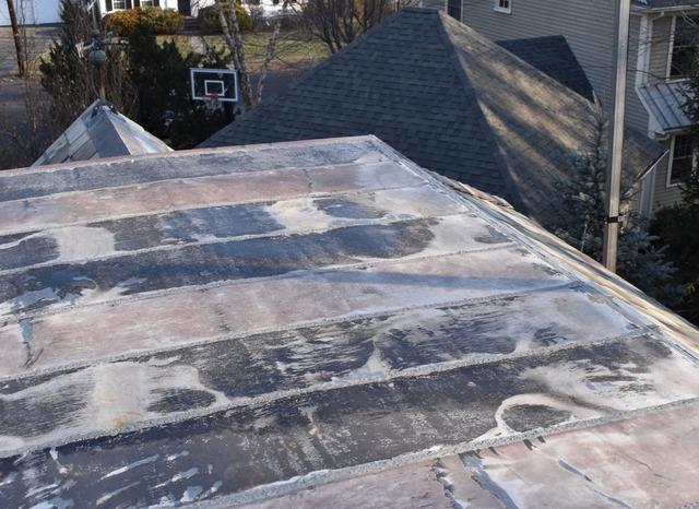 Copper Roof in Newton, MA