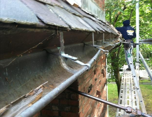 Copper Gutter Installation in Arlington, MA