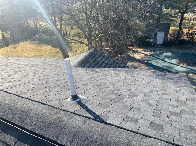 Shingle Roof in Needham, MA - After Photo