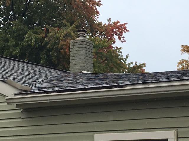 Insurance Claim Roof Repair in Harrison Twp, MI - Before Photo