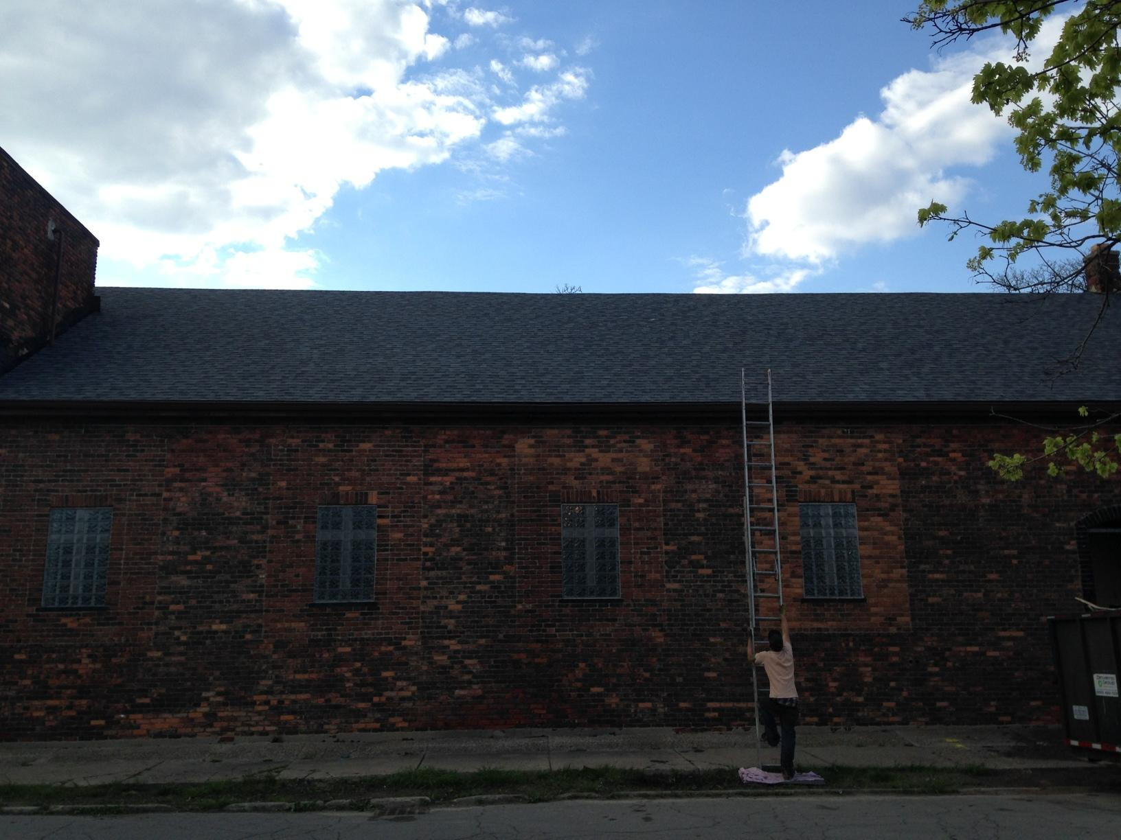 Shingle Replacement on a beautiful church in Detroit, MI - After Photo