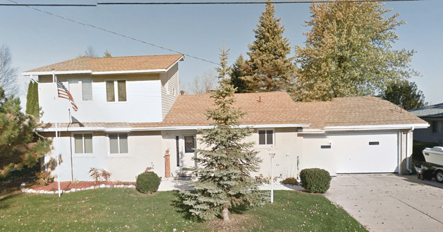 Roof Replacement in Clay Twp, MI - Before Photo