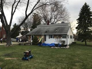 Roof Replacement in Clinton twp.