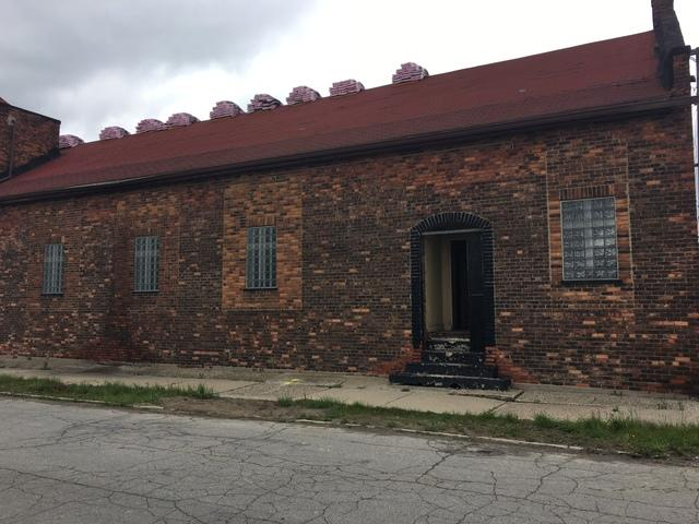 Shingle Replacement on a beautiful church in Detroit, MI - Before Photo