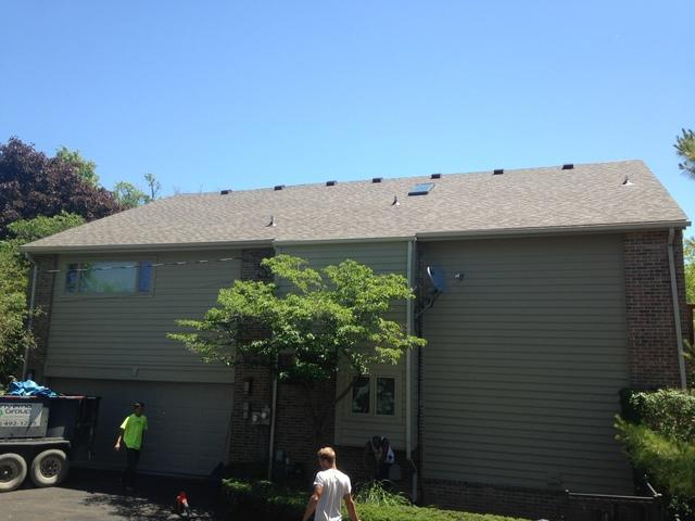 New roof in Bloomfield, MI