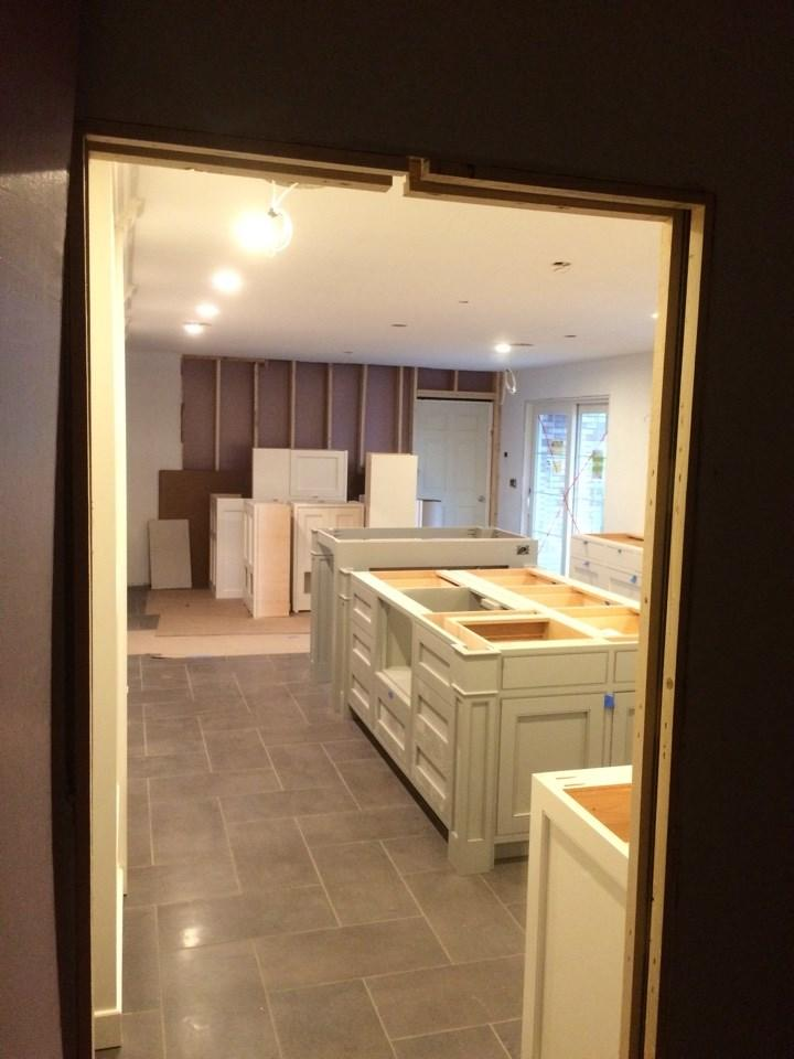Kitchen Remodel in Clarendon Hills, Illinois - Before Photo