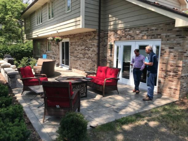LifeRoom Addition in Oak Brook, Illinois - Before Photo