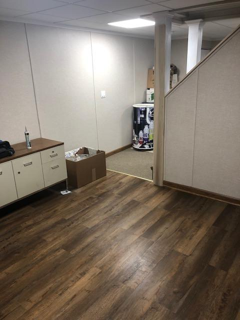 Basement Remodel in Bolingbrook, Illinois. - After Photo