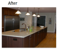 Kitchen Remodel in Naperville, Illinois. - After Photo
