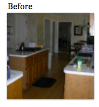 Kitchen Remodel in Naperville, Illinois. - Before Photo