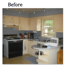 Updated Kitchen Remodeling In Downers Grove - Before Photo
