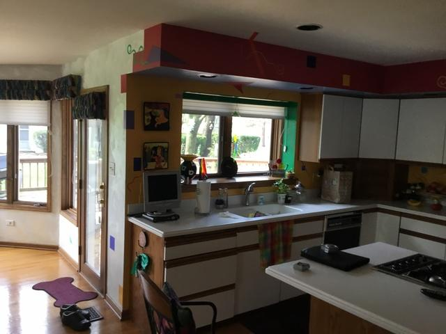 Kitchen Remodel in Oak Brook, Illinois - Before Photo