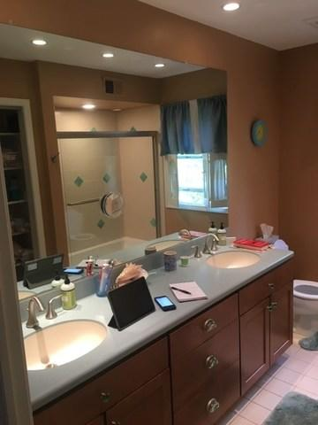 Bathroom Remodel in Oak Brook, Illinois. - Before Photo