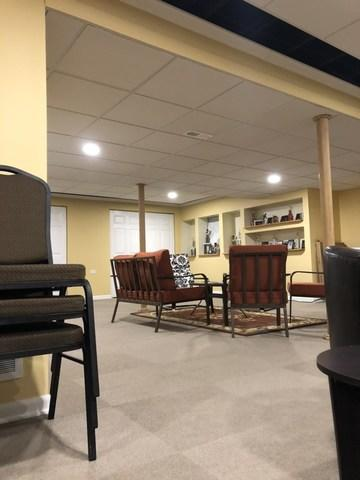 Ceiling Tile Replacement and Finishing in Bolingbrook, Illinois.