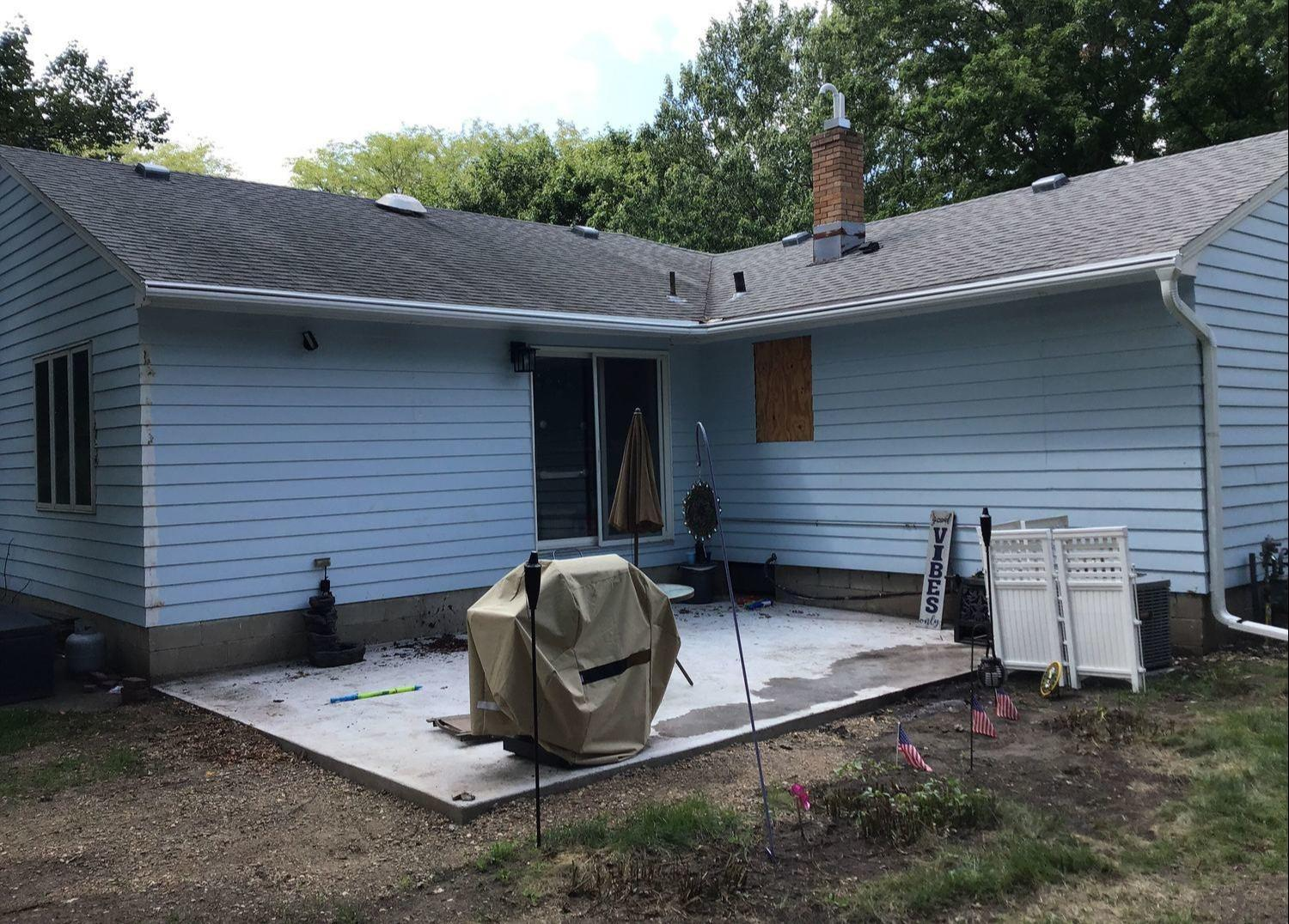 LeafGuard Before & After - 500 S Cherry St., Freeman SD, 57029 - After Photo