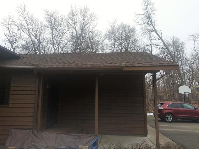 LeafGuard® Gutter Installation - Madison South Dakota - Before Photo