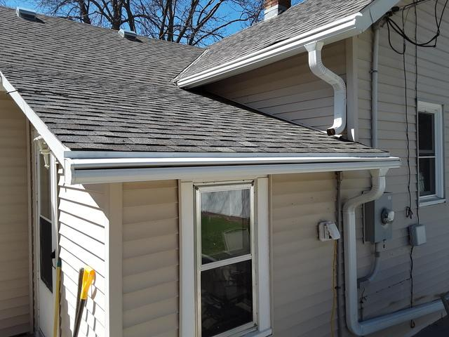 LeafGuard® Brand Gutters in Yankton South Dakota