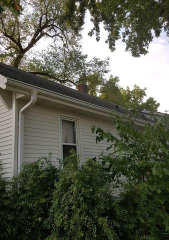 Before & After LeafGuard® Gutters - 120 W 3rd Ave., Lennox, SD 57039