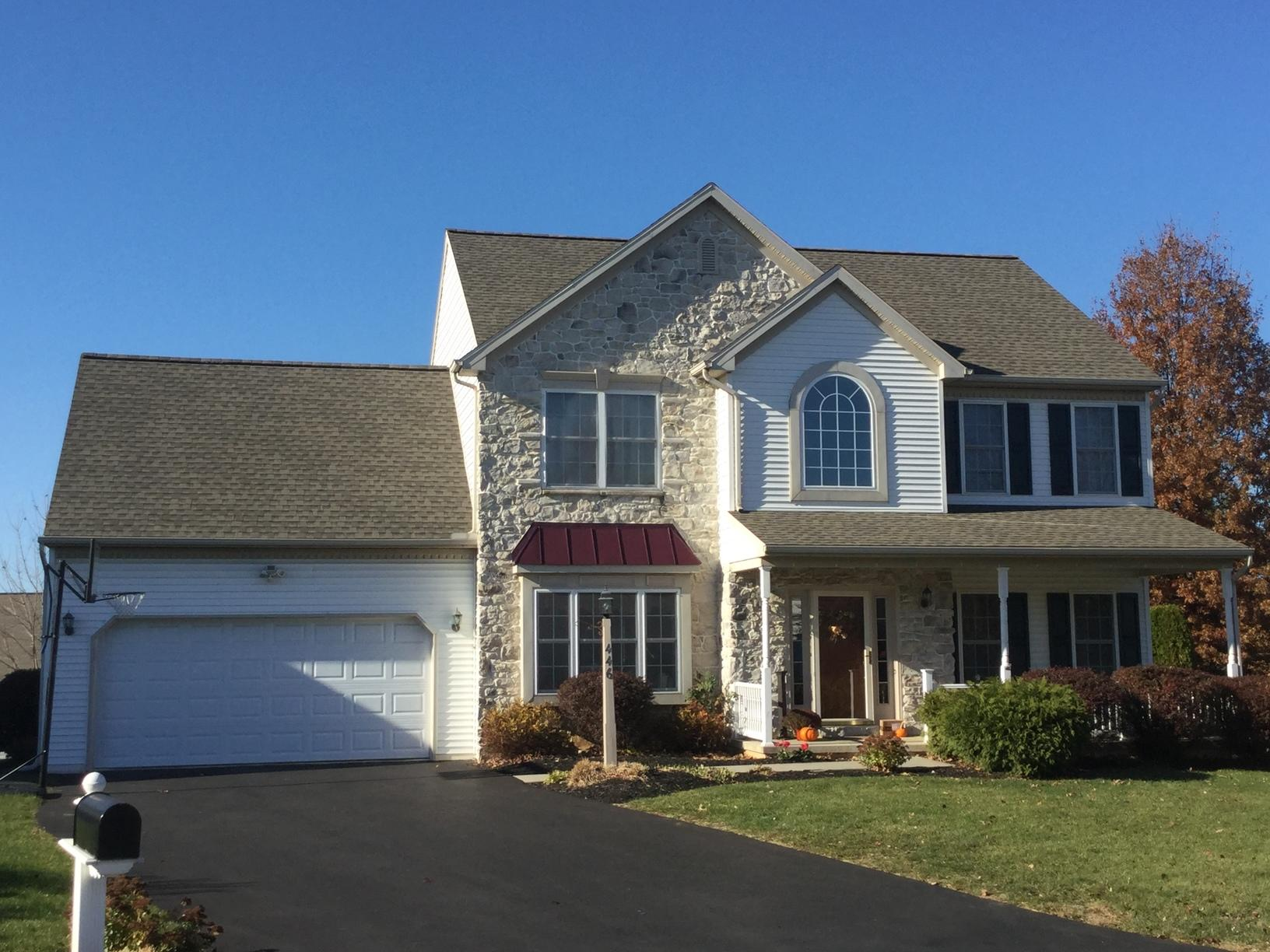 Exterior Painting and Roof Replacement in Palmyra, PA - After Photo