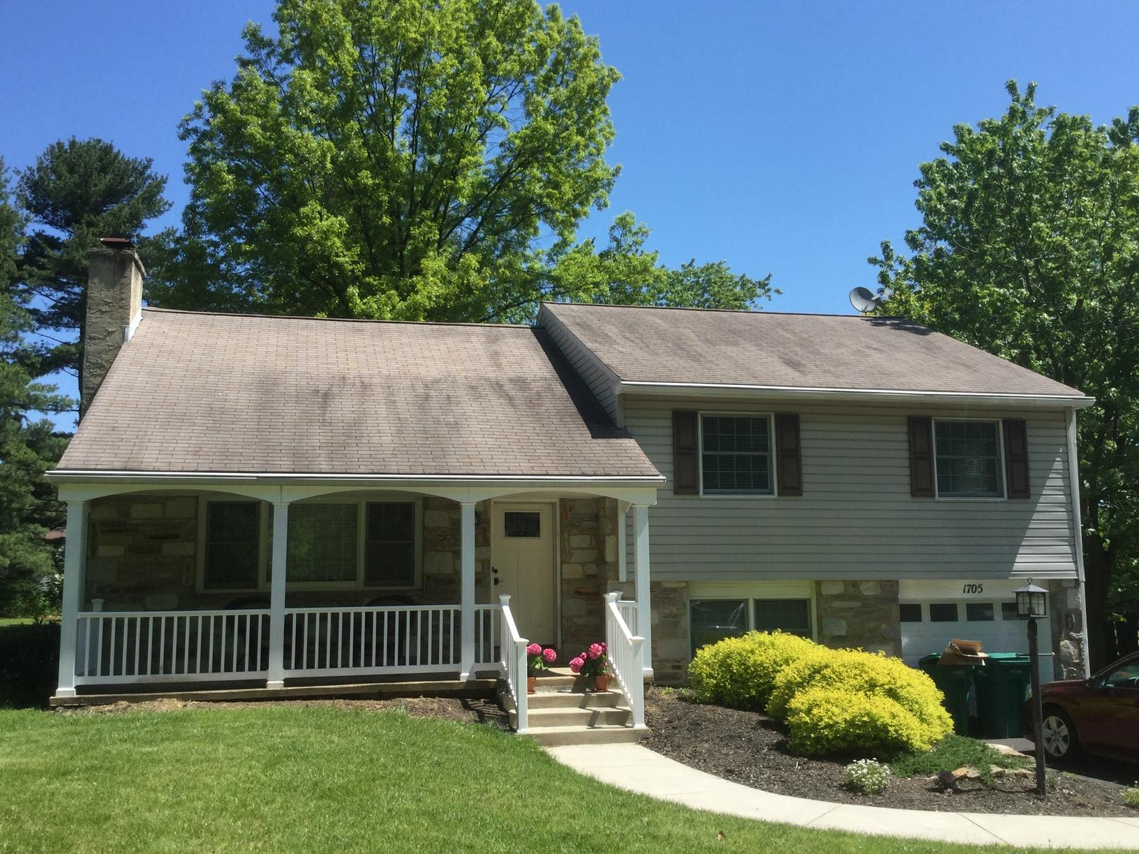 Roof Replacement in North Wales, PA - Before Photo