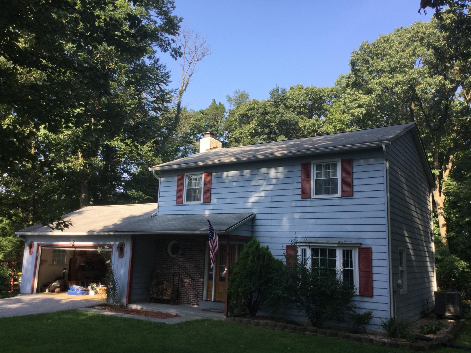 Roof Rot Replacement in Downingtown, PA - Before Photo