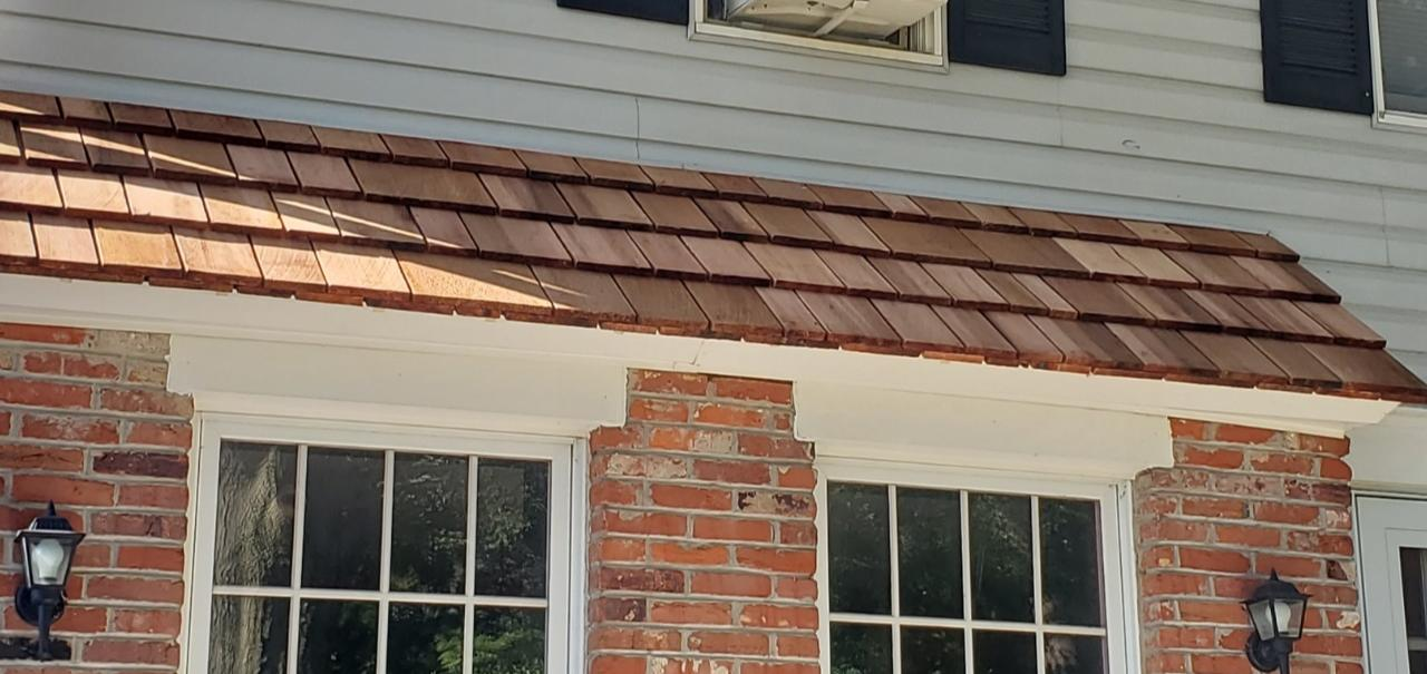 Cedar Shake Shingle install in Horsham, Pa - After Photo