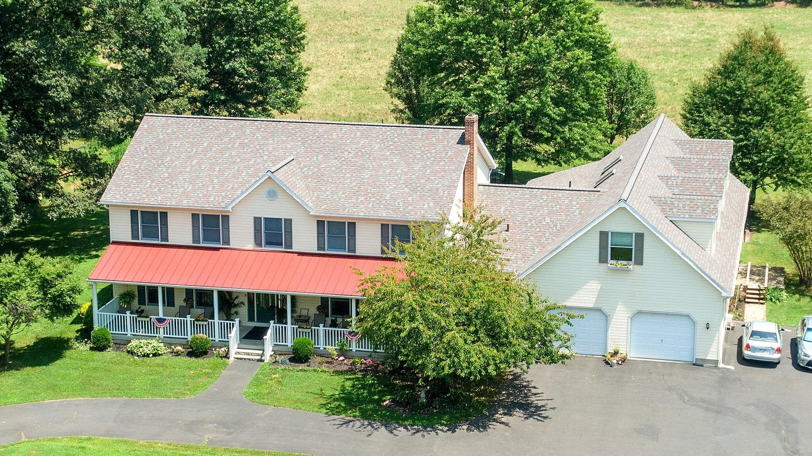 Middle Creek Roofing Roof Replacement Before And After