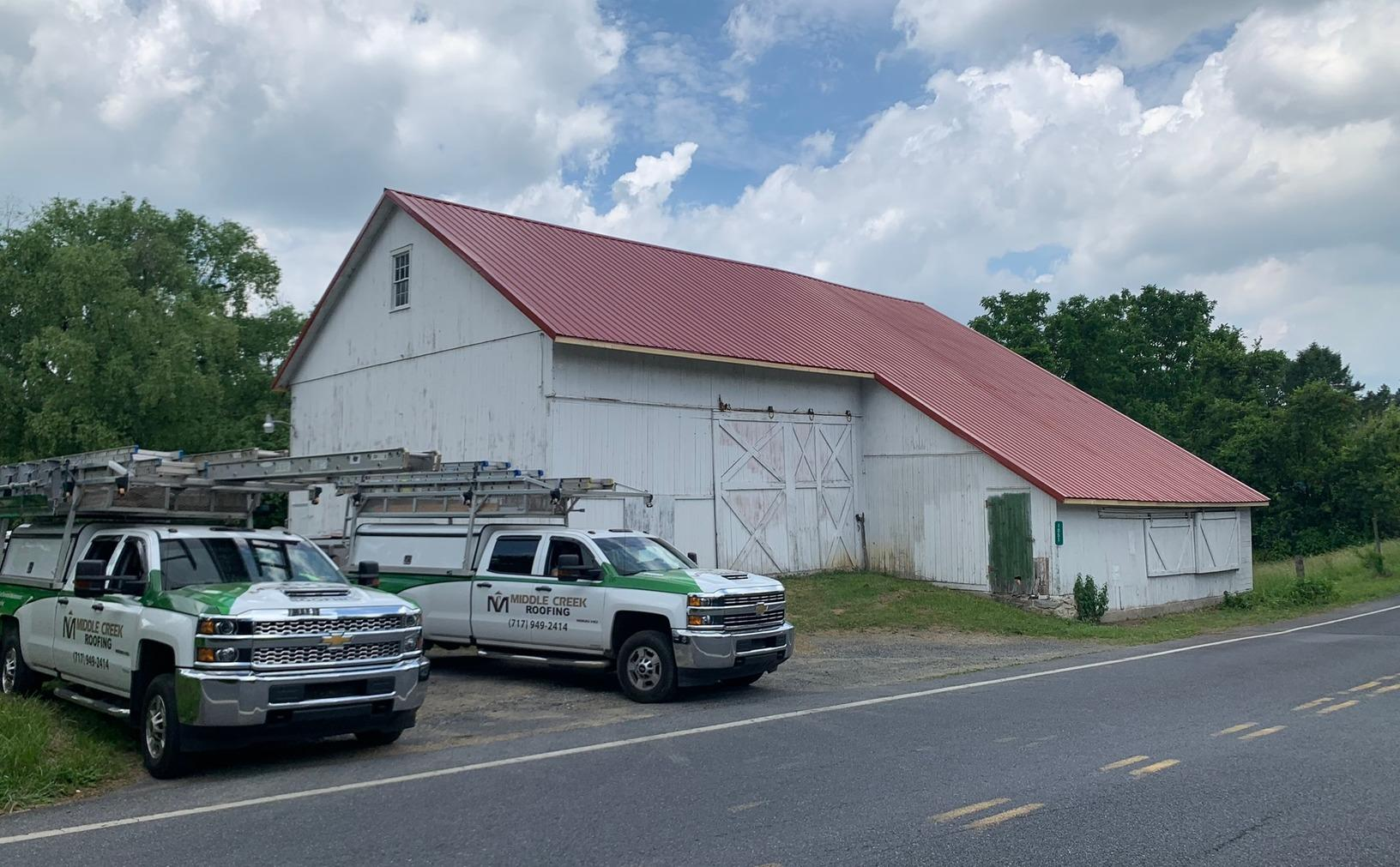 New Barn Roof Installed in Palmyra, PA - After Photo