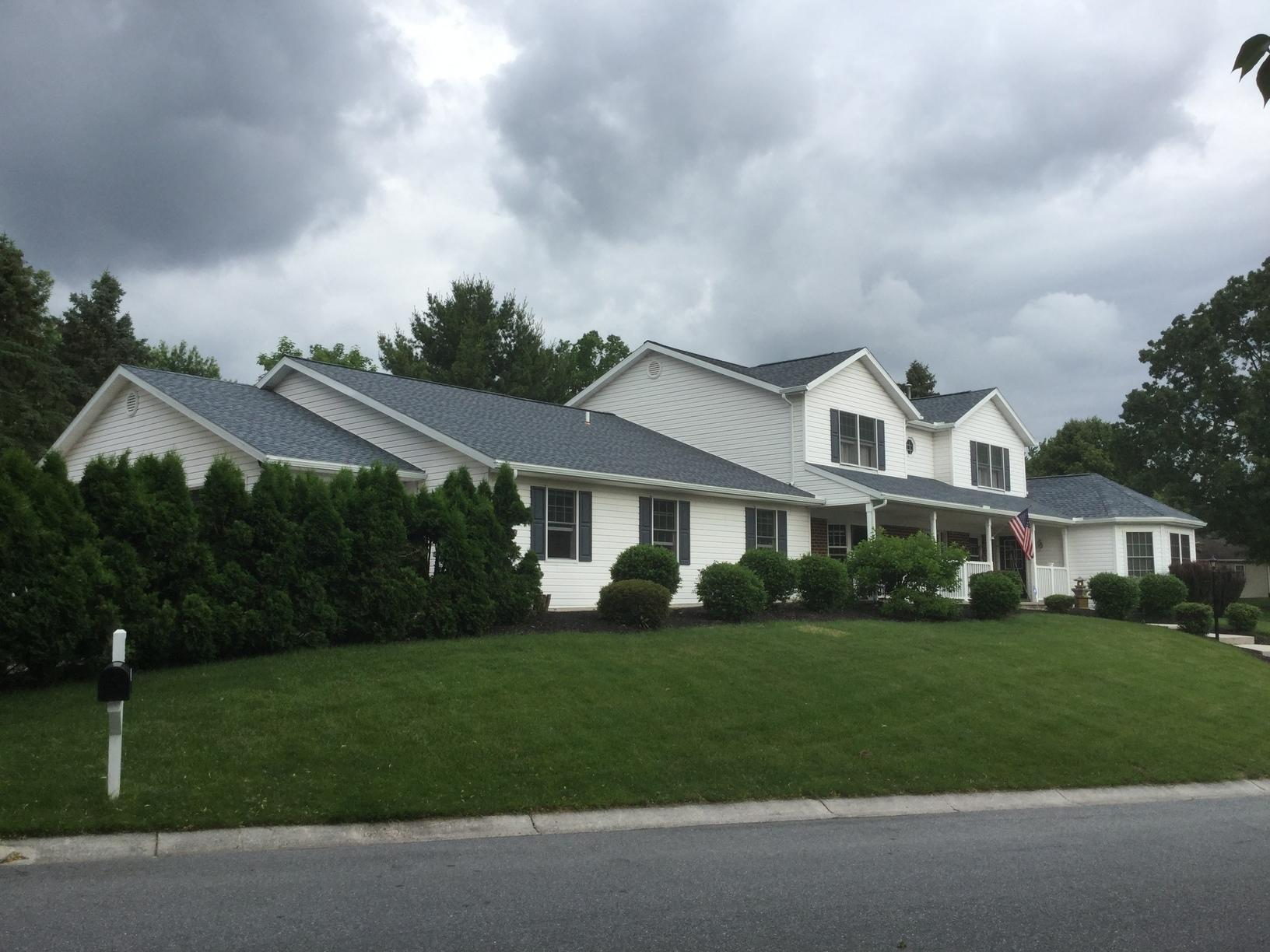 Roof replacement in,  Hershey Pa - After Photo