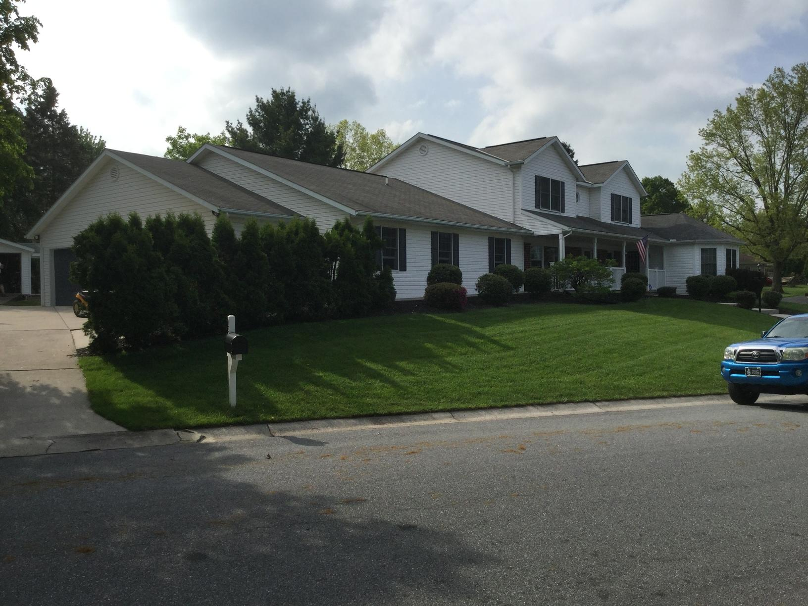 Roof replacement in,  Hershey Pa - Before Photo