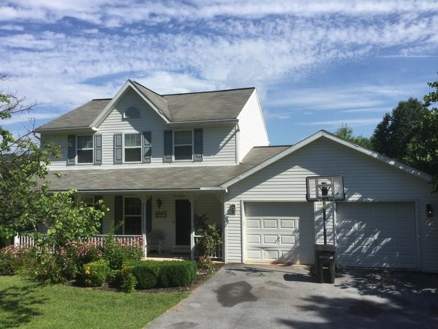 Birdsboro PA,  Roof and Gable Replacement