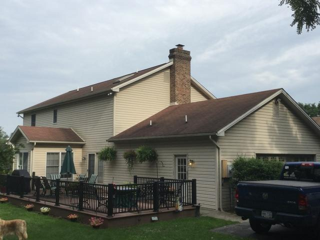 New Roof Installation In Harrisburg Pa - Before Photo