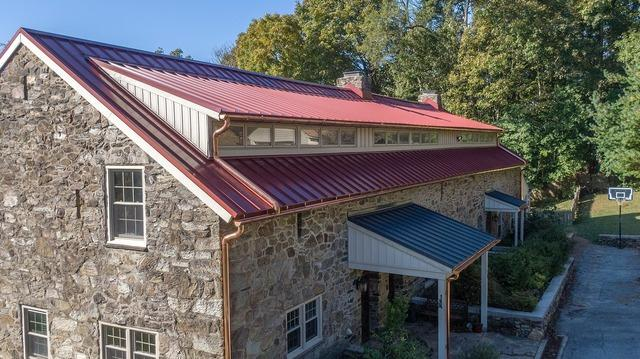 Standing Seam metal Roof install in West Chester, PA