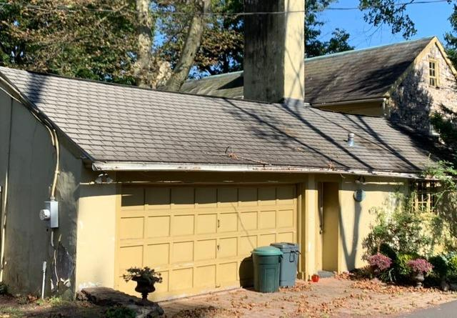 Standing Seam Metal Roofing Panels Installed on this Gargae in Doylestown, Pa