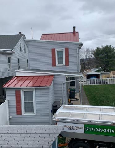 Standing Seam Metal Roof Installed in Schuylkill Haven, Pa