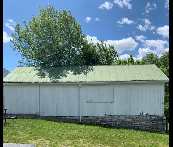 Corrugated Metal Roofing Panels Installed in Annville, PA