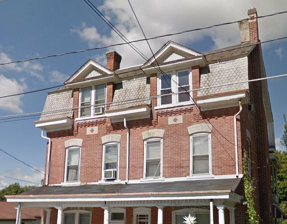 New Shingles On A Beautiful Old Home in Slatington - Before Photo
