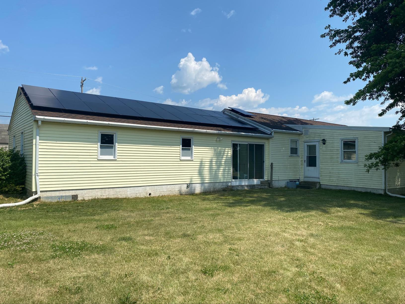 Solar Installation done in Hamburg, PA - After Photo