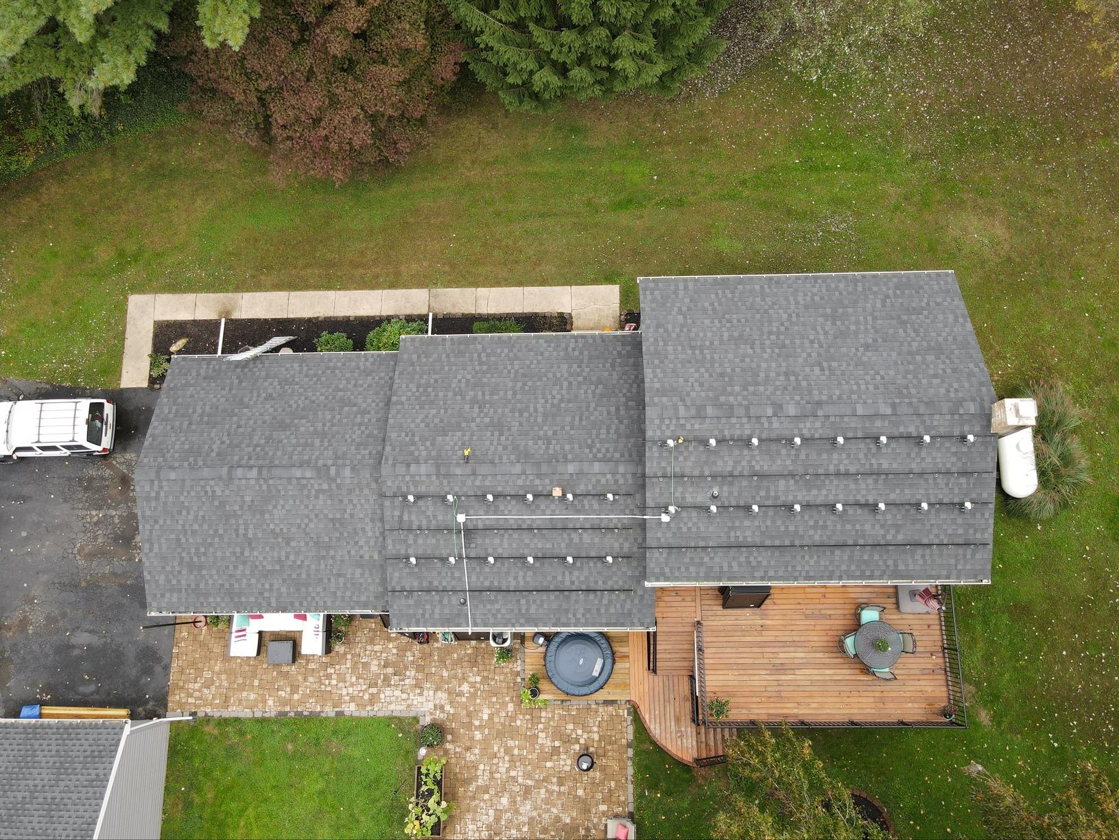 Ross's Solar Installation Done in New Park, Pa - Before Photo
