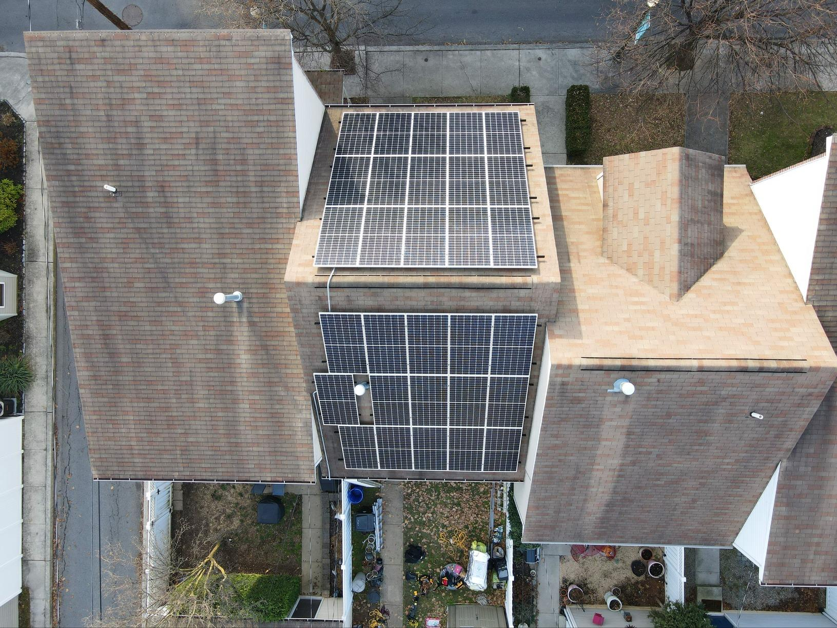 Robert and Barbara's Solar Installation Done in Harrisburg, Pa - After Photo