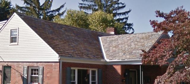 New Roof Installed in The West End of Allentown, Pennsylvania - Before Photo