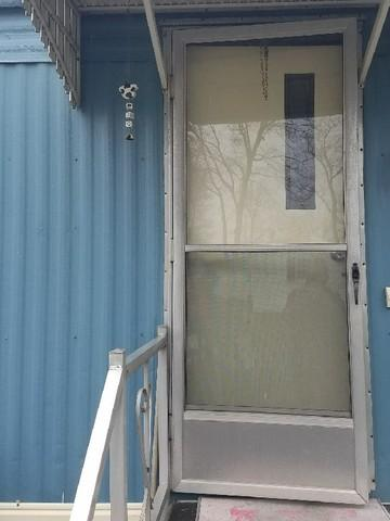 Slatington, PA Storm Door Installation - Before Photo