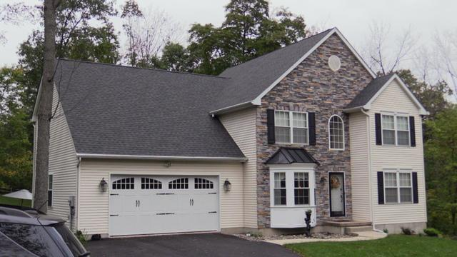 Shingles and Metal Roofing At This Lovely Home in Bangor, PA