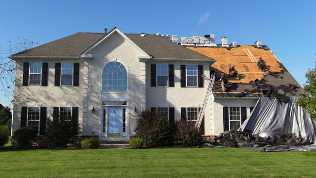Beautiful Bethlehem Roofing With StormMaster Slate Shingles