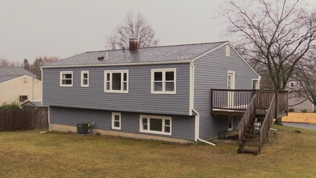 Back Side Of Big Vinyl Siding, Soffit, Fascia, And Roof Job In Washington, New Jersey
