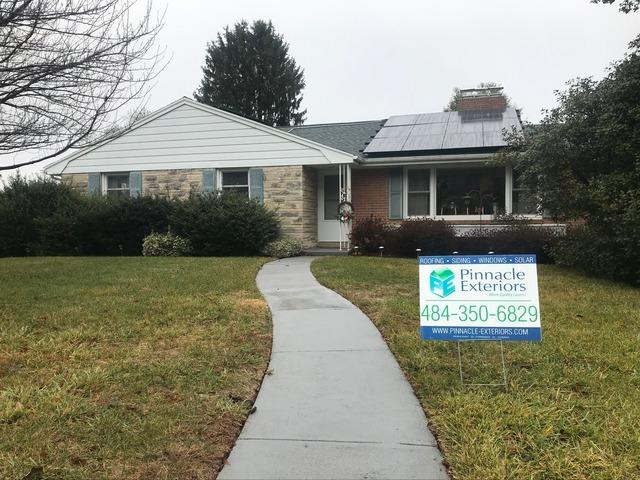 Solar Installation in York, PA. - After Photo