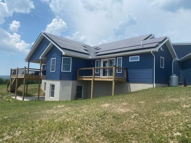 Solar Installation done in Benton, PA