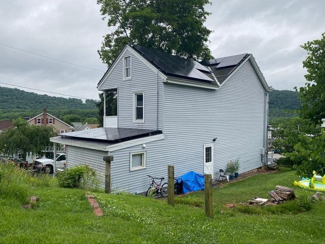 Solar Installation done in Schuylkill Haven, PA